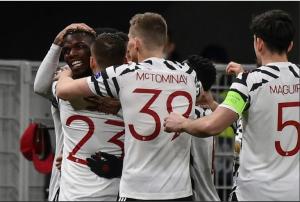 La joie de Manchester United après le prestigieux but de Paul Pogba contre l'AC Milan
